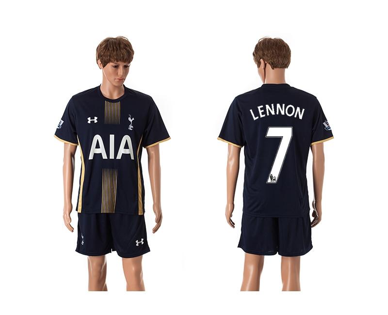 2014-15 Tottenham Hotspur 7 Lennon Away Jerseys