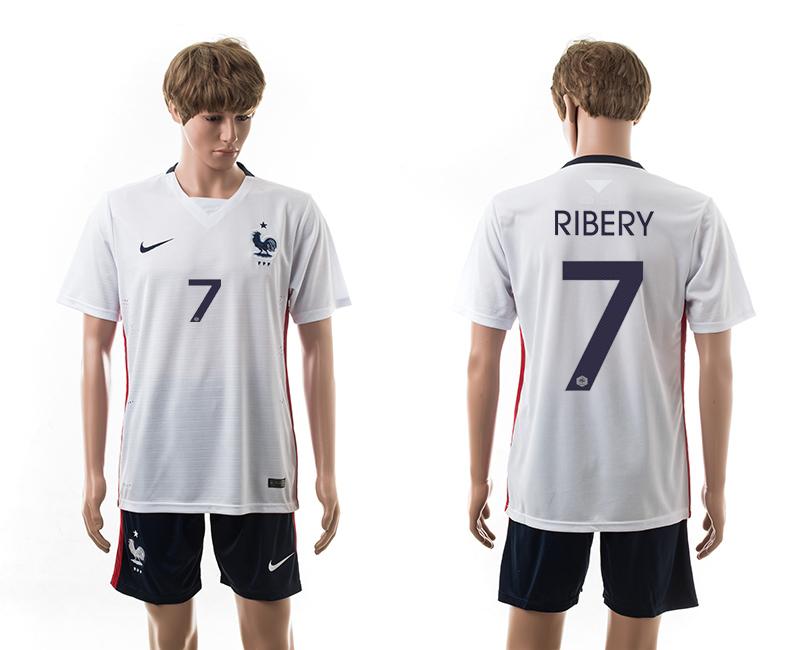 2015-16 France 7 Ribery Away Jersey