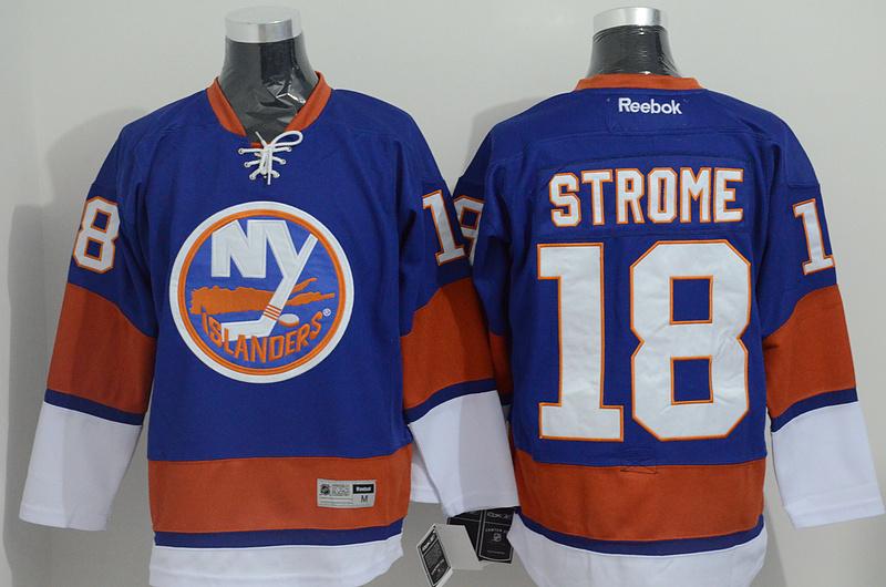 Islanders 18 Strome Blue CCM Jersey