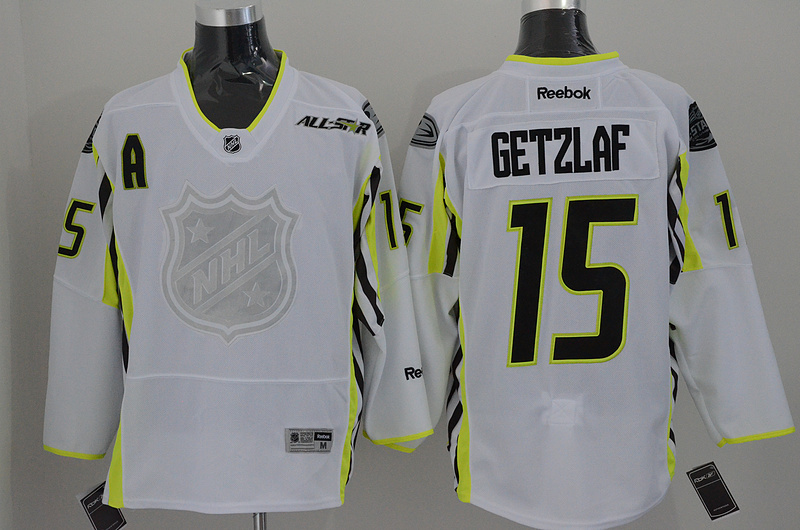 Ducks 15 Getzlaf White 2015 All Star Jersey