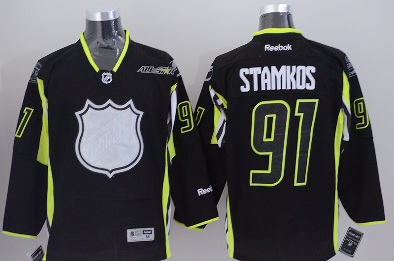 Lightning 91 Stamkos Black 2015 All Star Jersey