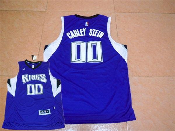 Kings 00 Willie Cauley Stein Purple New Rev 30 Jersey