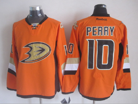 Ducks 10 Perry Orange 2014 Stadium Series Jerseys