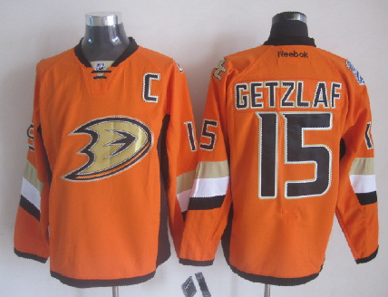 Ducks 15 Getzlaf Orange 2014 Stadium Series Jerseys