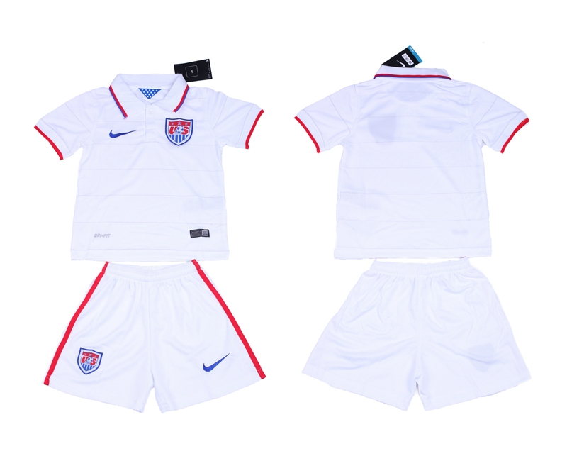 2014 World Cup USA Home Youth Jerseys