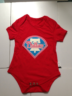 Phillies Red Toddler T-shirts