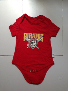 Pirates Red Toddler T-shirts