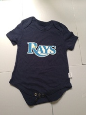 Rays Navy Toddler T-shirts