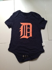 Tigers Black Toddler T-shirts