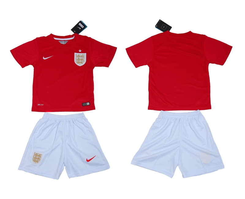 2014 World Cup England Away Youth Jerseys