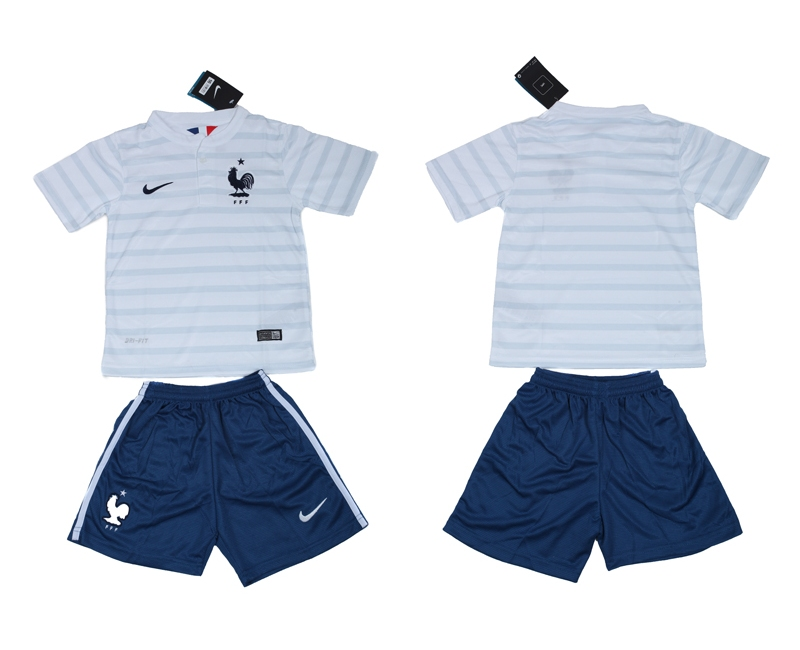 2014 World Cup France Away Youth Jerseys