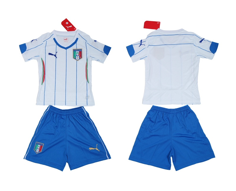 2014 World Cup Italy Away Youth Jerseys