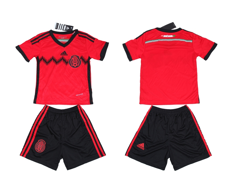 2014 World Cup Mexico Away Youth Jerseys