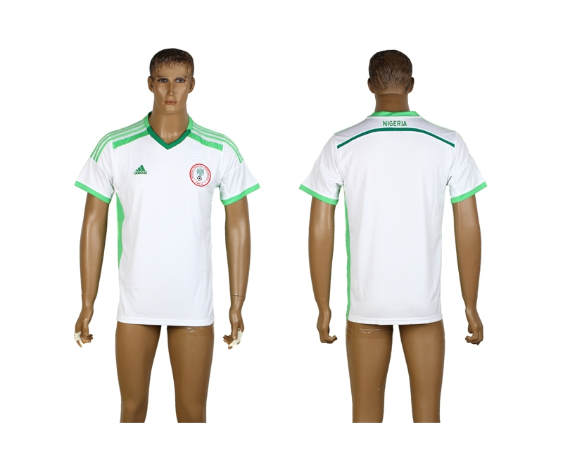 Nigeria 2014 World Cup Away Thailand Jerseys