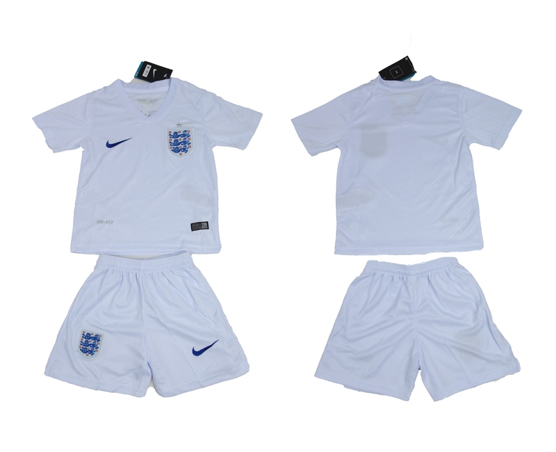 2014 World Cup England Youth Home Jerseys