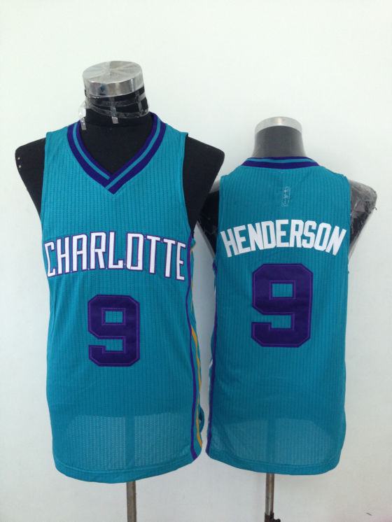 Hornets 9 Henderson Teal New Revolution 30 Jerseys