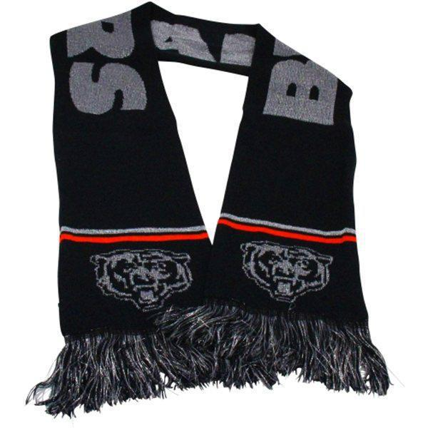Panthers Black Fashion Scarf