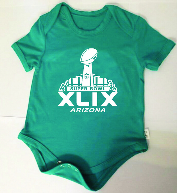 2015 Super Bowl XLIX Green Toddler T Shirts2