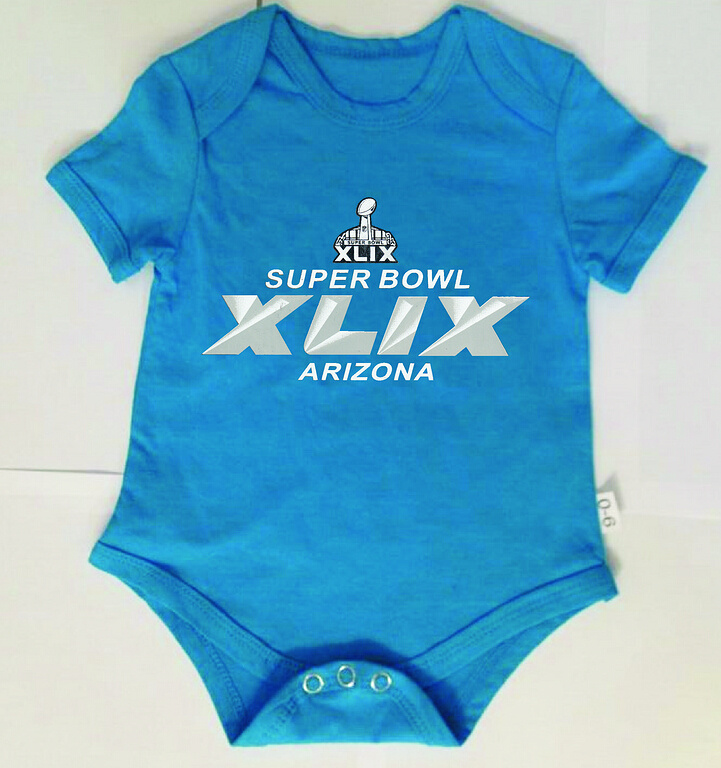 2015 Super Bowl XLIX Lt.Blue Toddler T Shirts