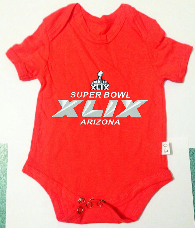2015 Super Bowl XLIX Orange Toddler T Shirts