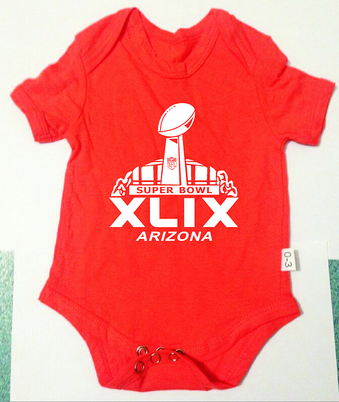 2015 Super Bowl XLIX Orange Toddler T Shirts2
