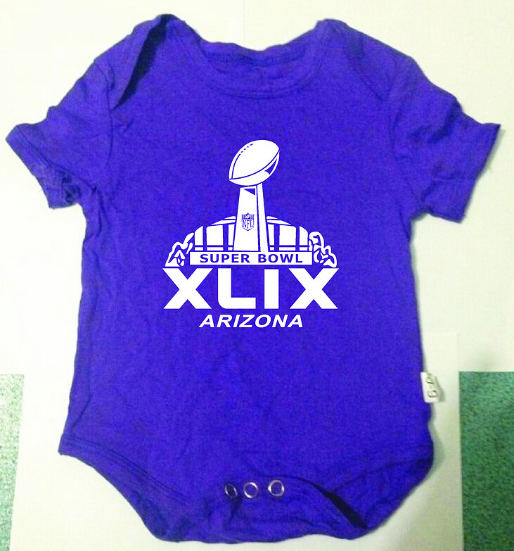 2015 Super Bowl XLIX Purple Toddler T Shirts