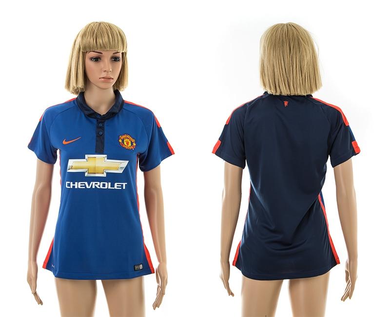 2014-15 Manchester United Third Away Women Jerseys