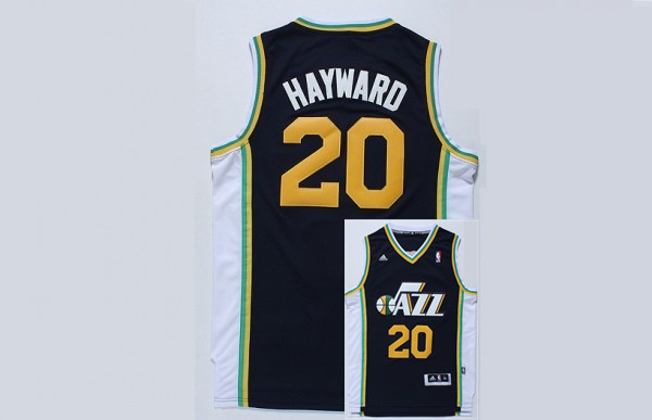 Jazz 20 Hayward Navy Blue New Revolution 30 Jerseys