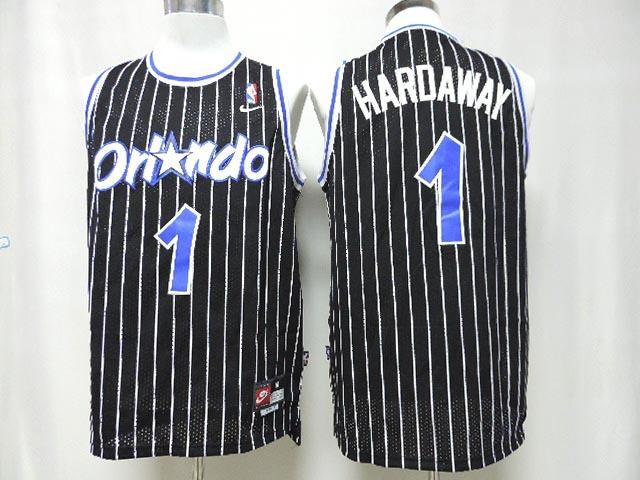 Magic 1 Hardaway Black New Revolution 30 Jerseys