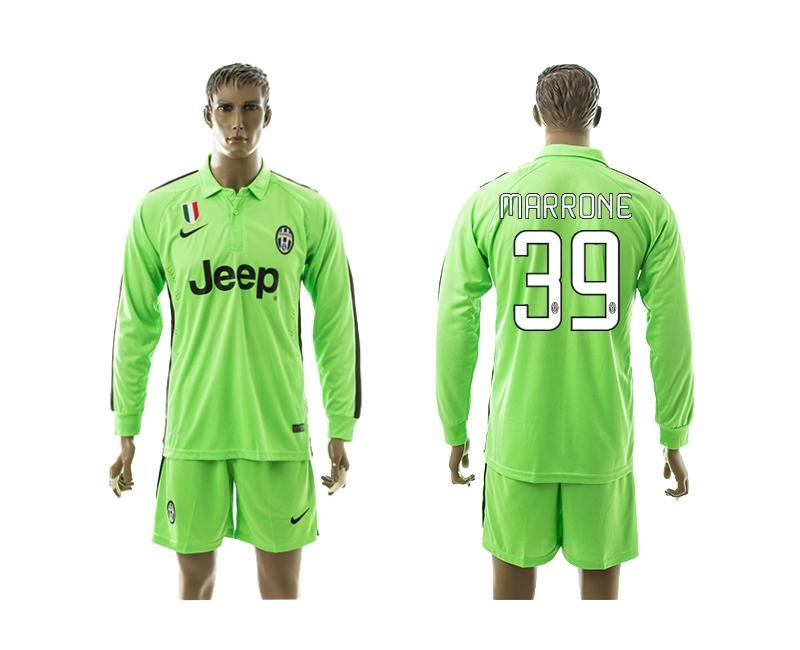 2014-15 Juventus 39 Marrone Third Away Long Sleeve Jerseys