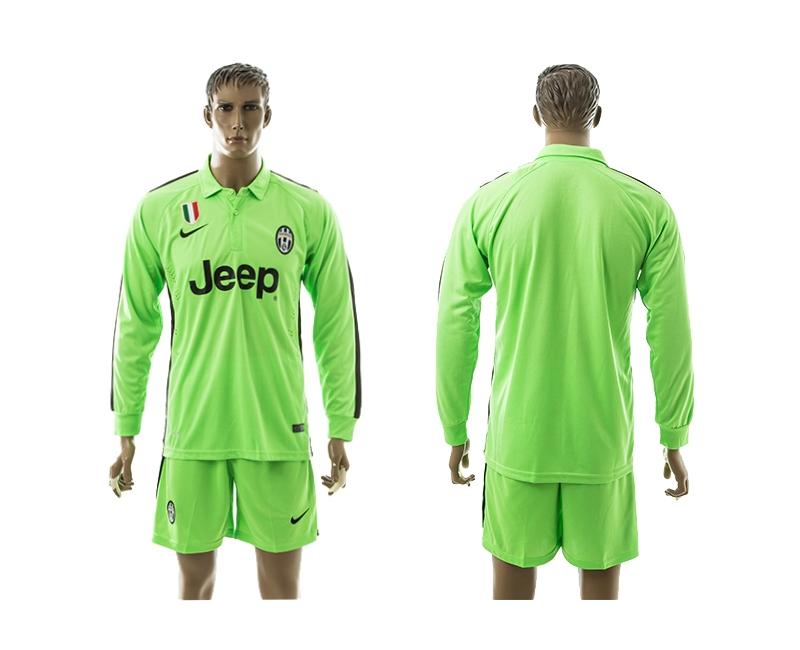 2014-15 Juventus Third Away Long Sleeve Jerseys