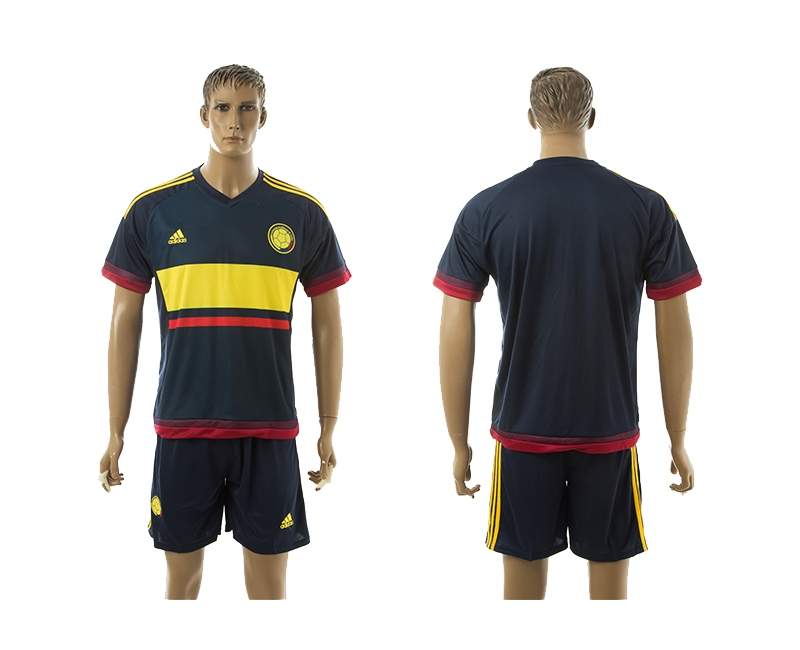 2014-15 Columbia Away Soccer Jersey