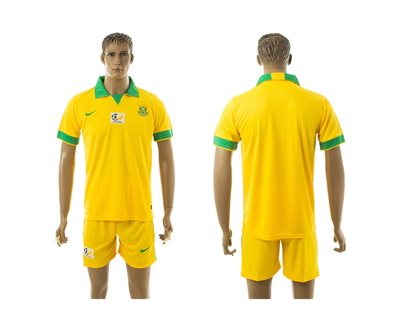 2014-15 South Africa Home Soccer Jersey