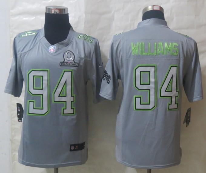 Nike Bills 94 Williams Grey 2014 Pro Bowl Jerseys