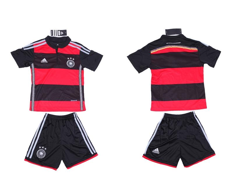 2014 World Cup Germany Away Kids Jerseys