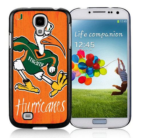 Miami (FL) Hurricanes Samsung Galaxy S4 9500 Phone Case09