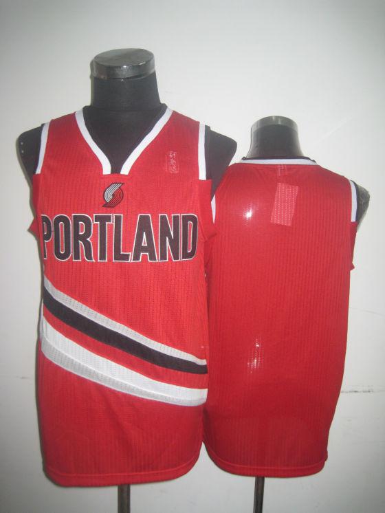 Blazers Blank Red Jerseys