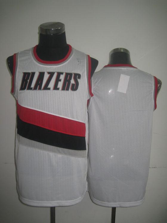 Blazers Blank White Jerseys