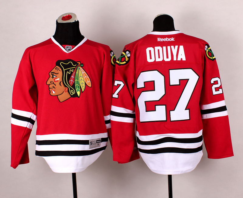 Blackhawks 27 Oduya Red 2014 Stadium Series Jerseys