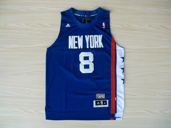 Nets 8 Williams Blue Hardwood Classics Swingman Jerseys