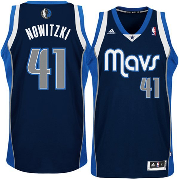 Mavericks 41 Nowitzki Revolution 30 Swingman Jerseys