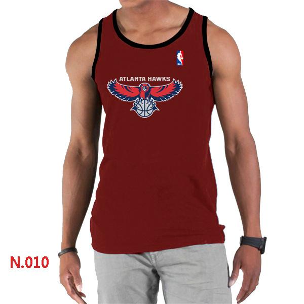 Atlanta Hawks Big & Tall Primary Logo Men Red Tank Top
