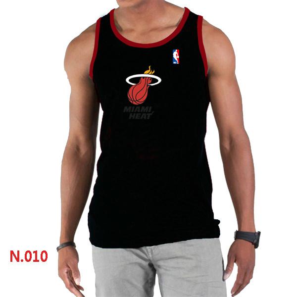 Miami Heat Big & Tall Primary Logo Men Black Tank Top