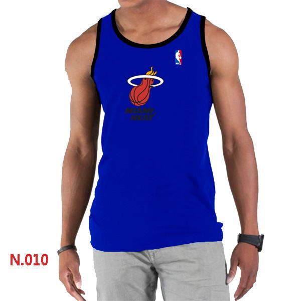 Miami Heat Big & Tall Primary Logo Men Blue Tank Top