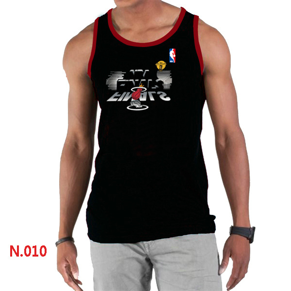 Miami Heat Eastern Conference Champions Men Black Tank Top