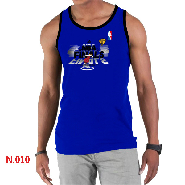 Miami Heat Eastern Conference Champions Men Blue Tank Top