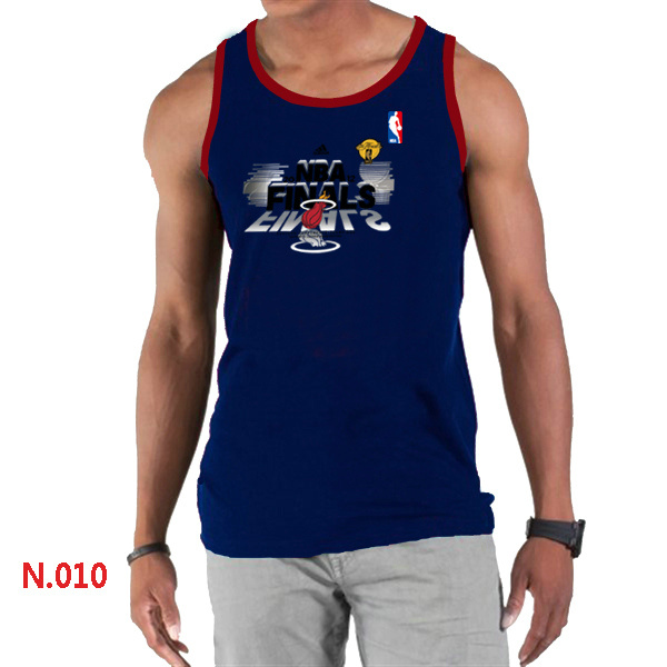 Miami Heat Eastern Conference Champions Men D.Blue Tank Top