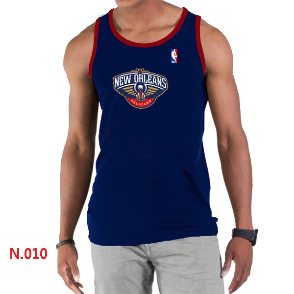 New Orleans Pelicans Big & Tall Primary Logo Men D.Blue Tank Top
