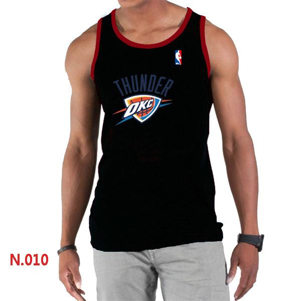 Oklahoma City Thunder Big & Tall Primary Logo Men Black Tank Top