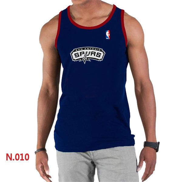 San Antonio Spurs Big & Tall Primary Logo Men D.Blue Tank Top